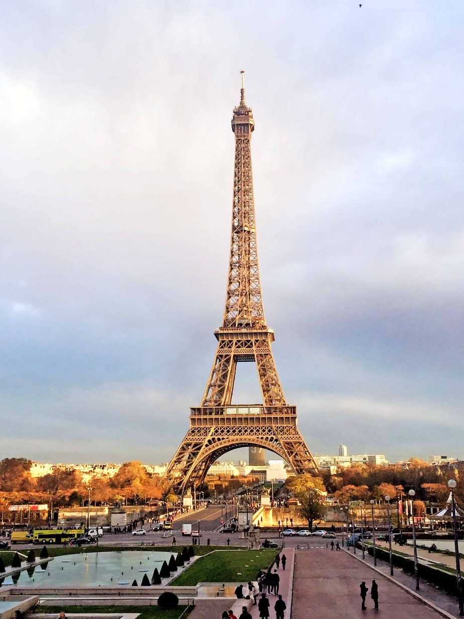 First Trip to Paris - Eiffel Tower from Trocadero