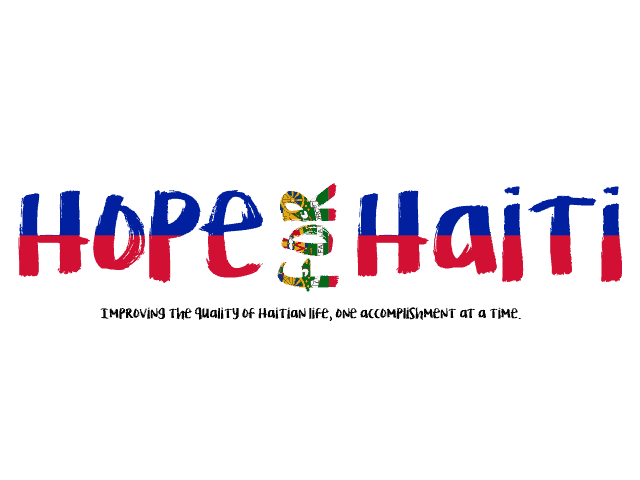 Redesigned Hope for Haiti Logo