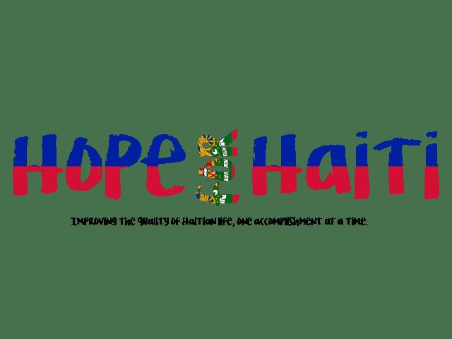 Redesigned Hope for Haiti Logo