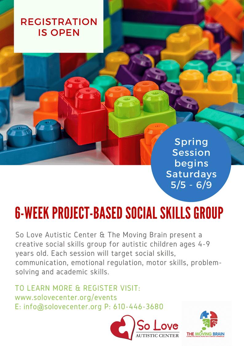 SOLA Social Skills Flyer
