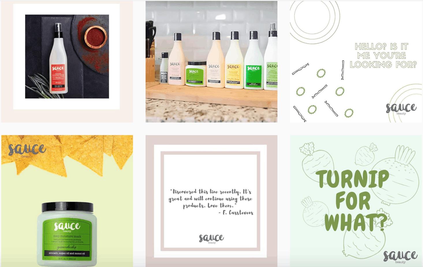 Sauce Beauty Instagram