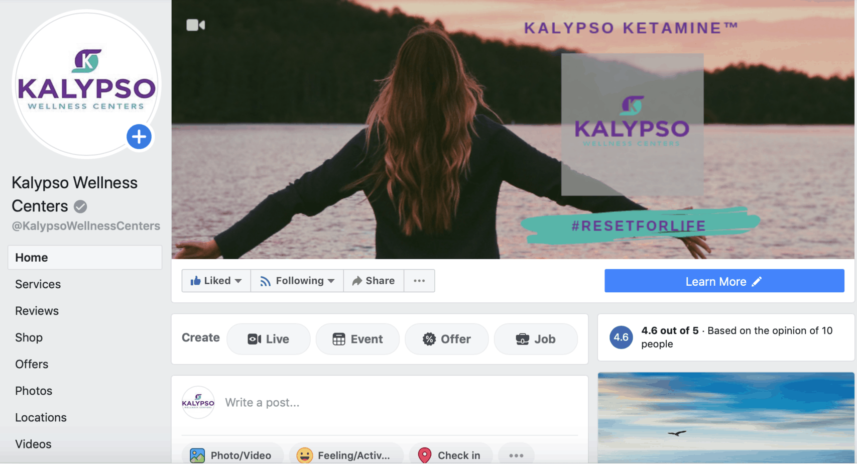 Kalypso Wellness Facebook