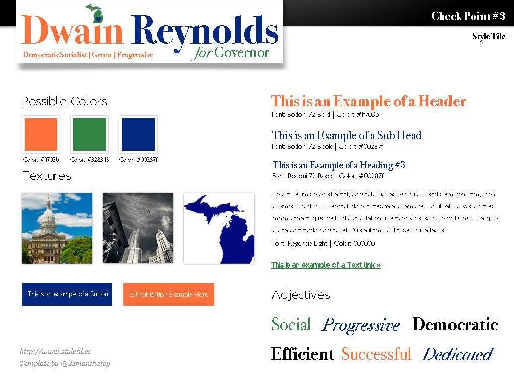 Dwain Reynolds Style Tile